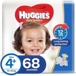Huggies Mega Diapers Size (4.5) 68X1
