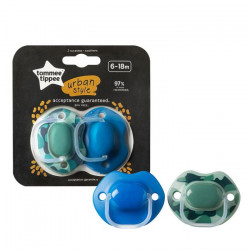 Tommee Tippee Soother Urban 6-18 Months For Boys