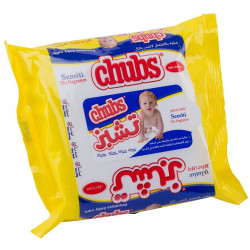 Chubs Sensitive Baby Wipes - 20 Count