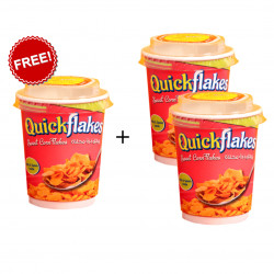Quickflakes Sweet Corn Flakes, Buy 2 & Get 1 FREE