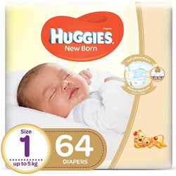 Huggies Jumbo Diapers Size 1 (T4) 64X1