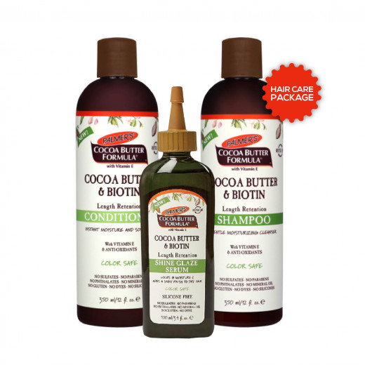 Palmer's Cocoa Butter & Biotin Hair Care Package Offer