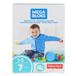 Mega Bloks First Builders, 7 pieces
