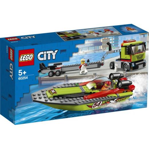 LEGO Race Boat Transporter