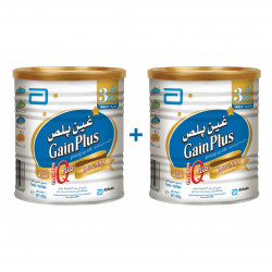 Similac Gain Plus Stage 3 - 400 g ( 2 Tins Free Delivery Offer)