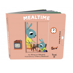 Pull and Play Books: Mealtime, Board book   14 pages