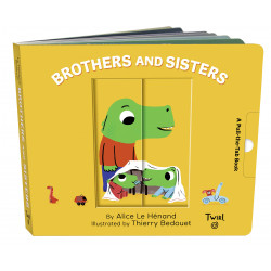 Brothers and Sisters: A Pull-the-Tab Book (Pull and Play (7)) Board book