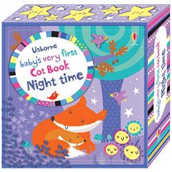 Baby's Very First Cot Book Night Time, Novelty book   12 pages