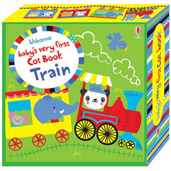 Baby's Very First Cot Book Train, Novelty book   12 pages