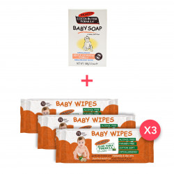 Palmer's Baby Offer (3 Waterwipe packs + Soap)