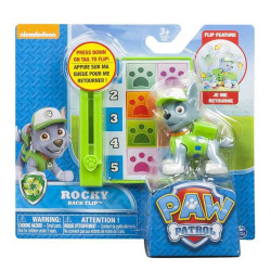 Paw Patrol - Action Pack Pup - Back Flip Rocky