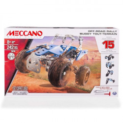 Meccano, 15 Models Set - Off-Road Rally