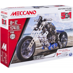 Meccano, 5-in-1 Model - Motorcycles
