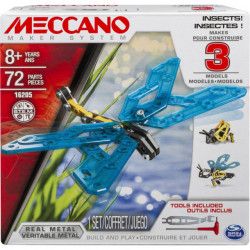 Meccano - 3 Model Set, Insects
