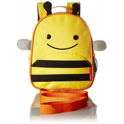 Skip Hop Toddler Leash and Harness Backpack, Zoo Collection, Bee
