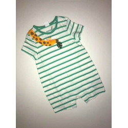GAP Green Striped Short Overall, Different Sizes