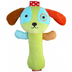 Skk Baby Squeeze Me Rattle, Dog