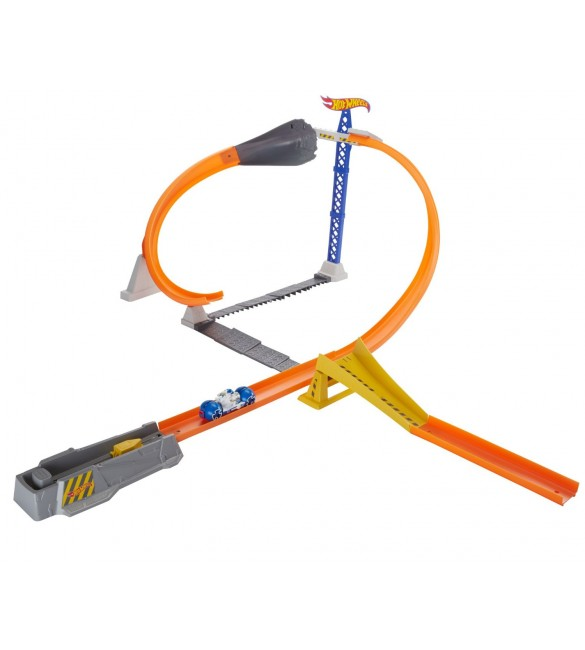 Hot Wheels Moto Track Stars Hyper Loop Extreme Trackset