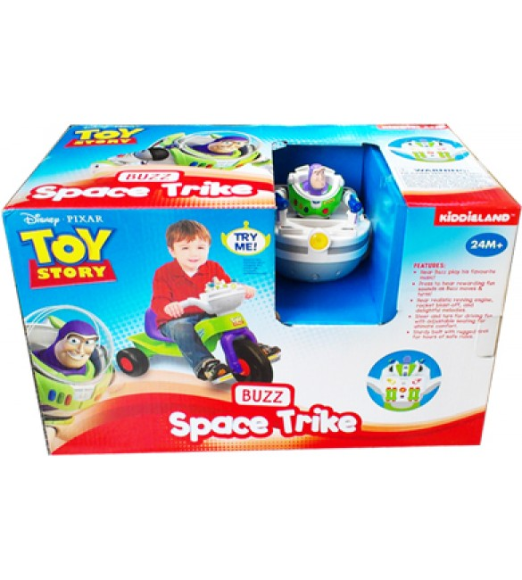 Kiddieland Toy Story 3 039412 Buzz Lightyear Space Trike with Lights and Sound