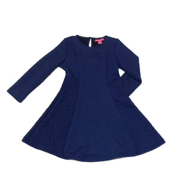 Primark Young Dimension Navy Cable Knit Dress