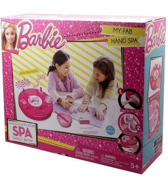 Barbie My Fab Hand Spa Playset