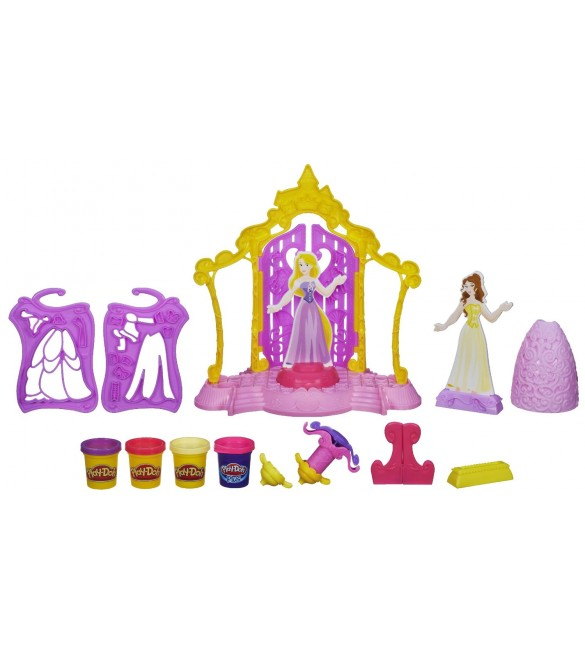 Playdoh Disney Princess Design a Dress Boutique