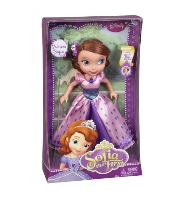 """Disney Princess Sofia the First Doll """"Never Stop Trying"""""""