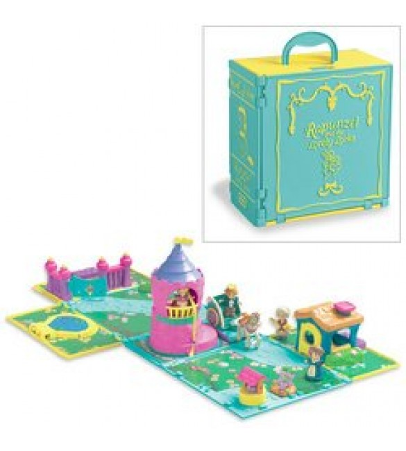 Fairytale Playsets: Rapunzel and the Lovely Locks