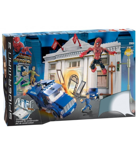 Mega Bloks Spiderman 3 - Sandman Bank Heist