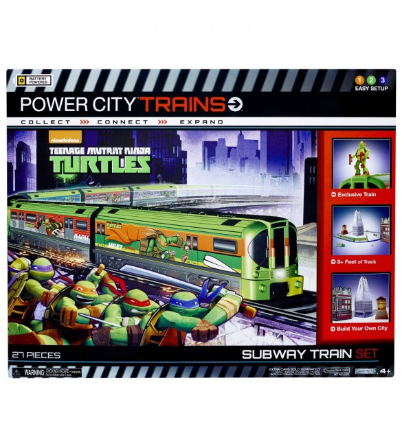 POWER CITY TRAINS Teenage Mutant Ninja Turtles