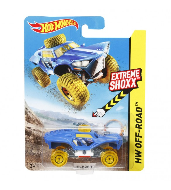 Hot Wheels Extreme Shoxx Vehicle