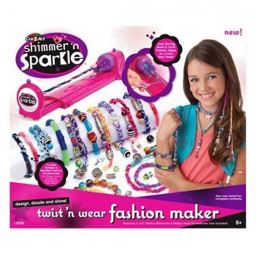 Cra-Z-Art Shimmer 'N Sparkle Twist 'N Wear Fashion Maker