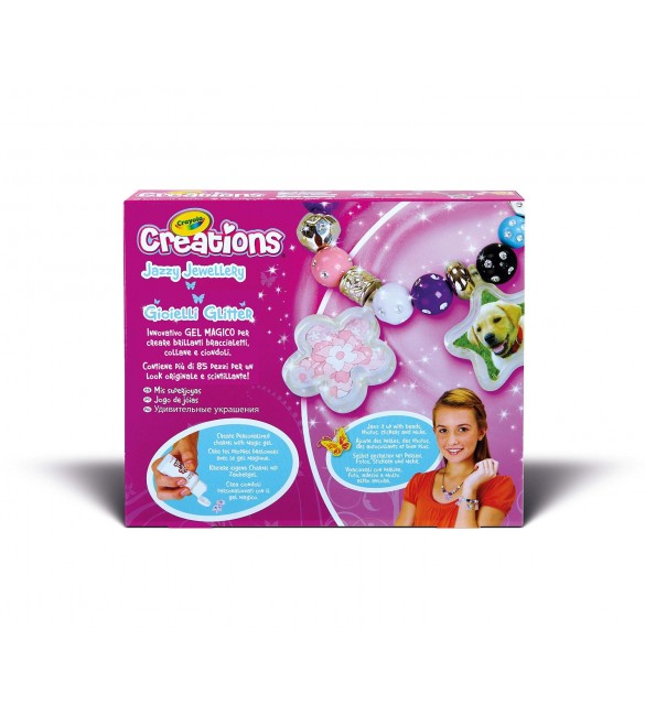 Crayola Creations Jazzy Jewellery Craft Kit
