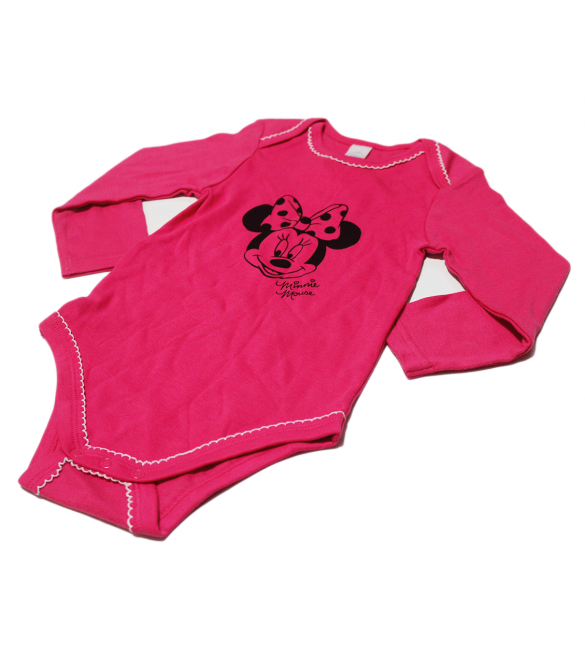 Primark 2 PCs Minnie Mouse Baby Suits, 2 Years