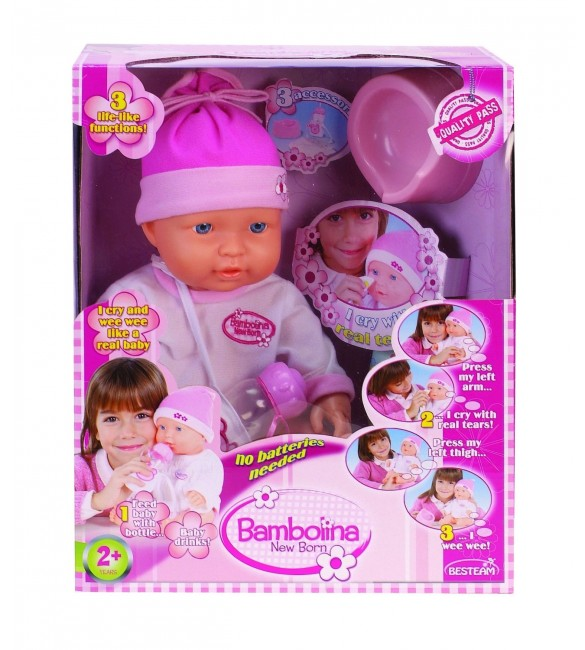 Bambolina New Born Doll
