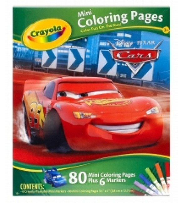 Crayola Mini Coloring Pages Disney Cars