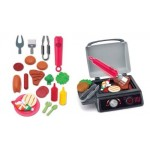 BLUE BOX GADGET GOURMET SIZZLE AND GLOW BBQ GRILL