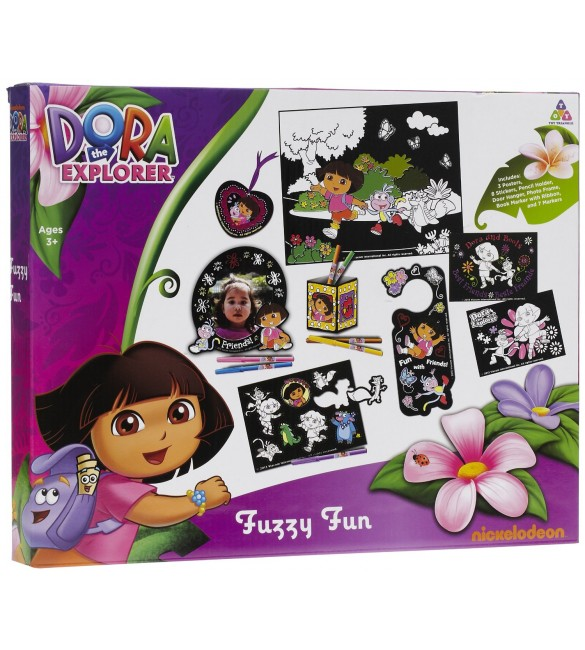 Dora The Explorer Fuzzy Fun