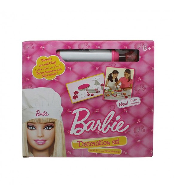 Barbie Cake Decoration Set