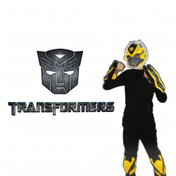 Transformers Bumblebee Role Play Boxset Glowing Mask+Armor Cosplay