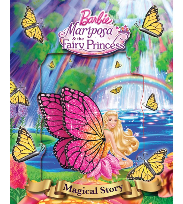 Barbie Mariposa and the Fairy Princess Magical storybook