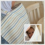 B-Cover Baby Nursing Covers / Baby Boy Stripes