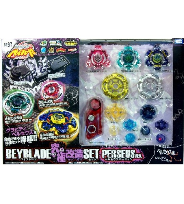 Beyblade Metal Ultimate Reshuffle Customize Set Perseus BB-97