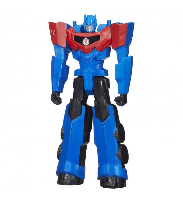 Transformers Robots in Disguise Titan Heroes Optimus Prime Figure, 12""