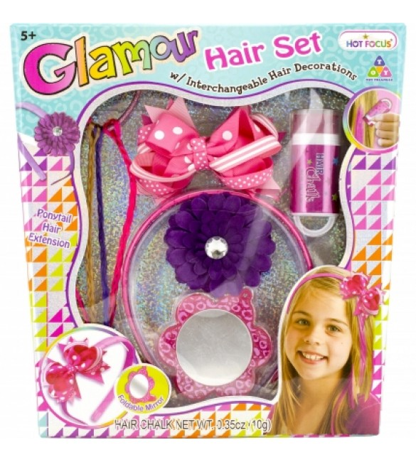 Hot Focus, Glamour: Hair Set