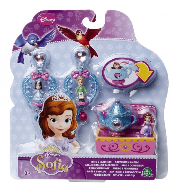Sofia the First Ring and Earrings Playset