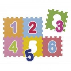 Chicco soft mat Puzzle-Numbers