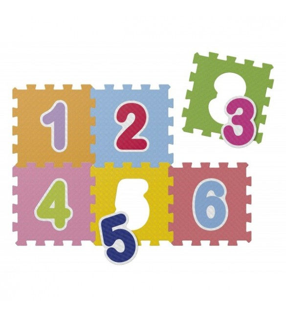 Carpet Puzzle Of Numbers Chicco