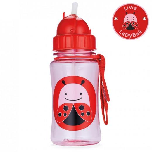 Skip Hop Zoo Straw Bottle - Ladybug