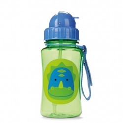 Skip Hop Zoo Collection Straw Bottle - Dinosaurs